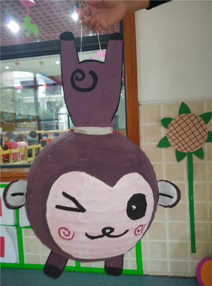 思新颖,可爱的兔子灯笼,活灵活 一个个引人入胜的灯笼故事,一幅